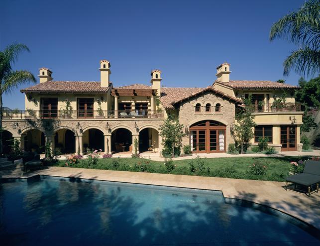 Mediterranean Mulholland Estates 12,000 sq ft