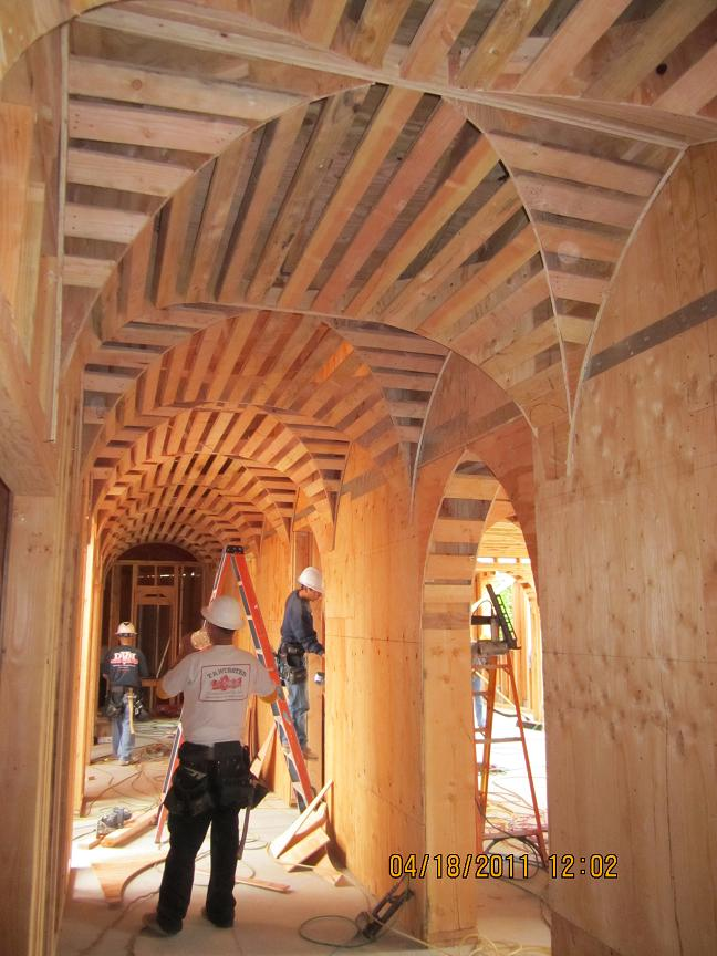 framing arches