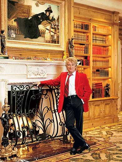 Architectural Digest | Rod Stewart