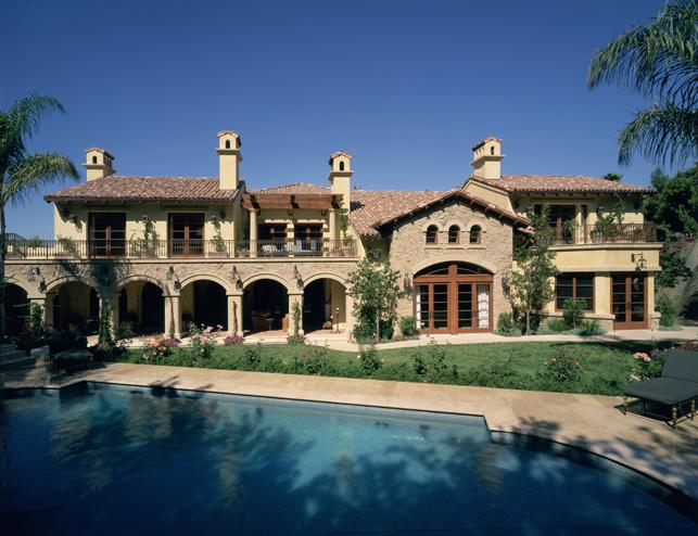 Mediterranean Mulholland Estates 12,000 sq ft